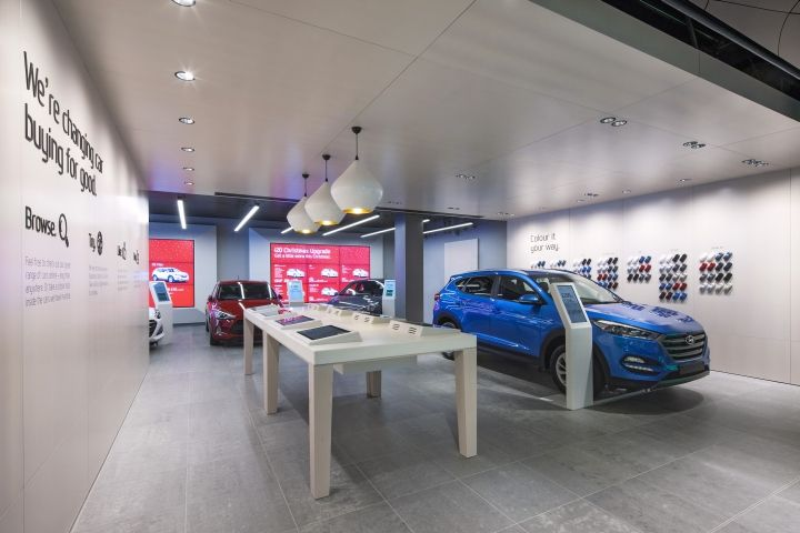 Rockar Hyundai store by Dalziel & Pow, London – UK » Retail Design Blog