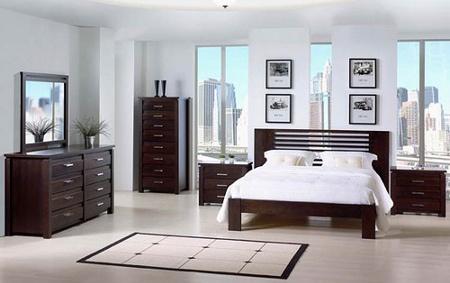 Me gusta esta recamara por que tiene iluminación natural y los muebles dan mucho espacio para guardar mucha ropa.