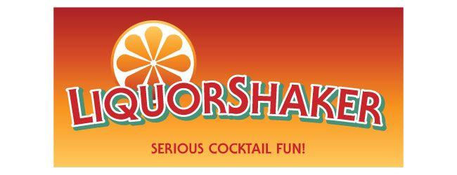 LiquorShaker logo - serious cocktail fun!