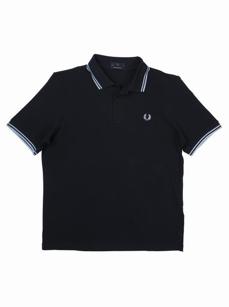 brooksfield FRED PERRY LAUREL WREATH POLO - M12 Navy-Ice