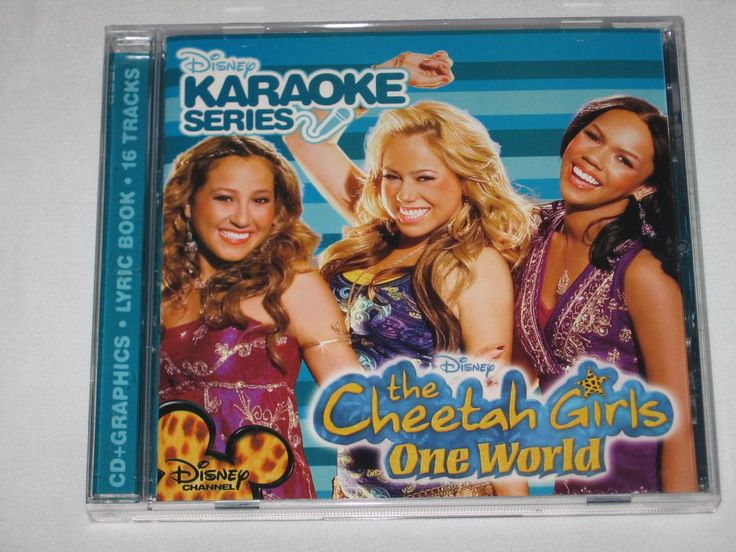 For Sale: Disney's Karaoke Series The Cheetah Girls One World CD BRAND NEW