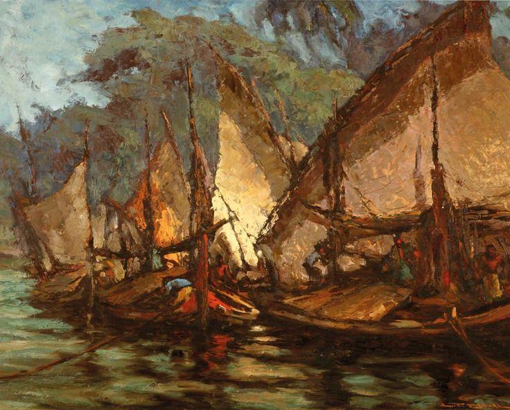 Lucien Frits Ohl - Kapal