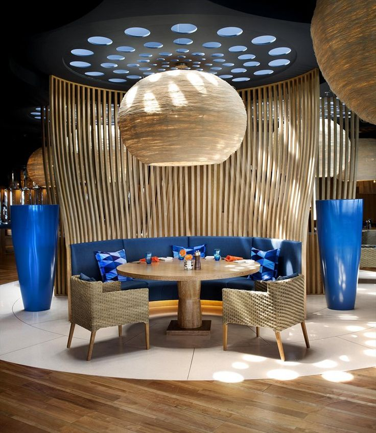 W Hotel Koh Samui I don't like this whole thing, but the furniture would be beautiful outdoors