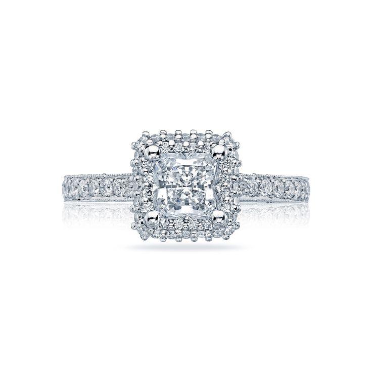 Strings On Diamond Mount Engagement Ring