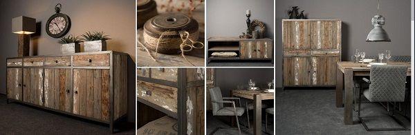 #Industrieel vintage meubelcollectie# bij Hallo XL te Waddinxveen