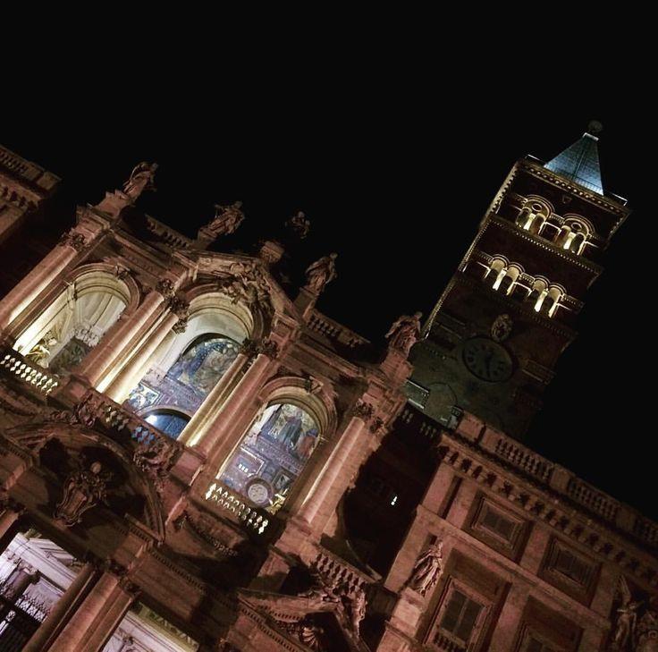 Basílica de Santa María La Mayor en Roma: Juan Carlos Gómez (@jcgomvar) en Instagram.