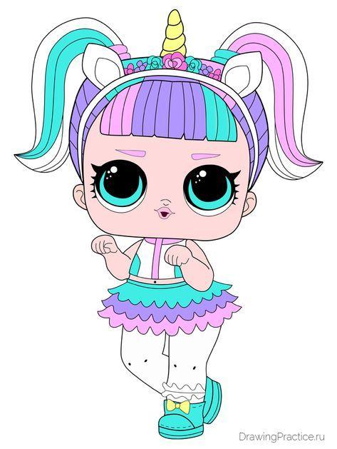 Как нарисовать куклу ЛОЛ Unicorn - Единорог | Рисуем ...
