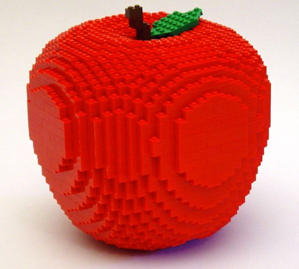 Lego creation by Nathan Sawaya