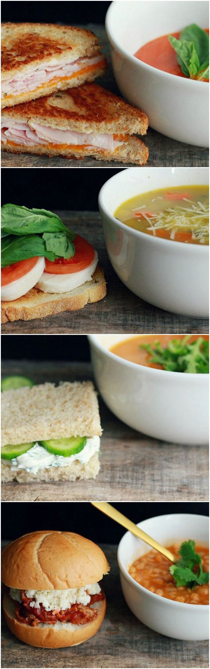 4 Soup and Sandwich Combos You'll Actually Look Forward to at Lunch