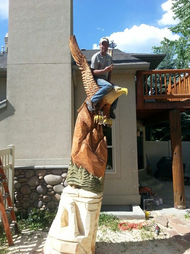 Best chainsaw sculptures images on pinterest