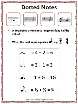 Best Easy Music Theory For Middle School Images On
