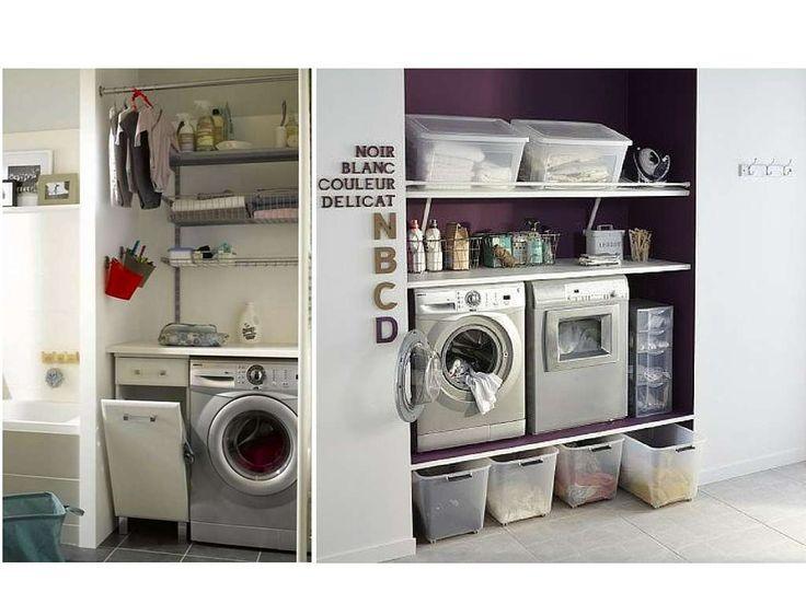 buanderie sur lever machines cave pinterest buanderie mobilier de salon et petite buanderie. Black Bedroom Furniture Sets. Home Design Ideas