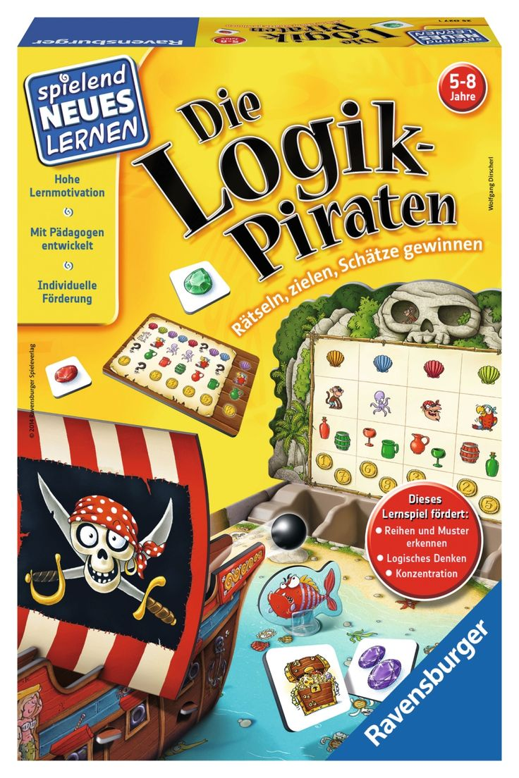 Die Logik-Piraten - ab 5 Jahren