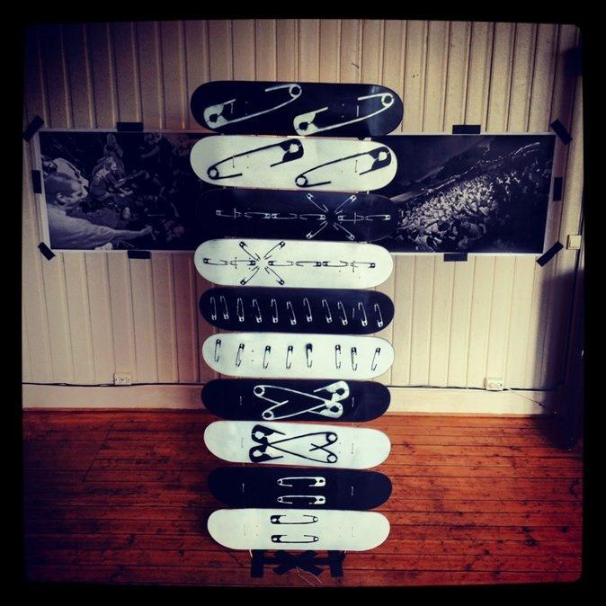 Punkekunst på skateboard - Artikler - Tacky.no