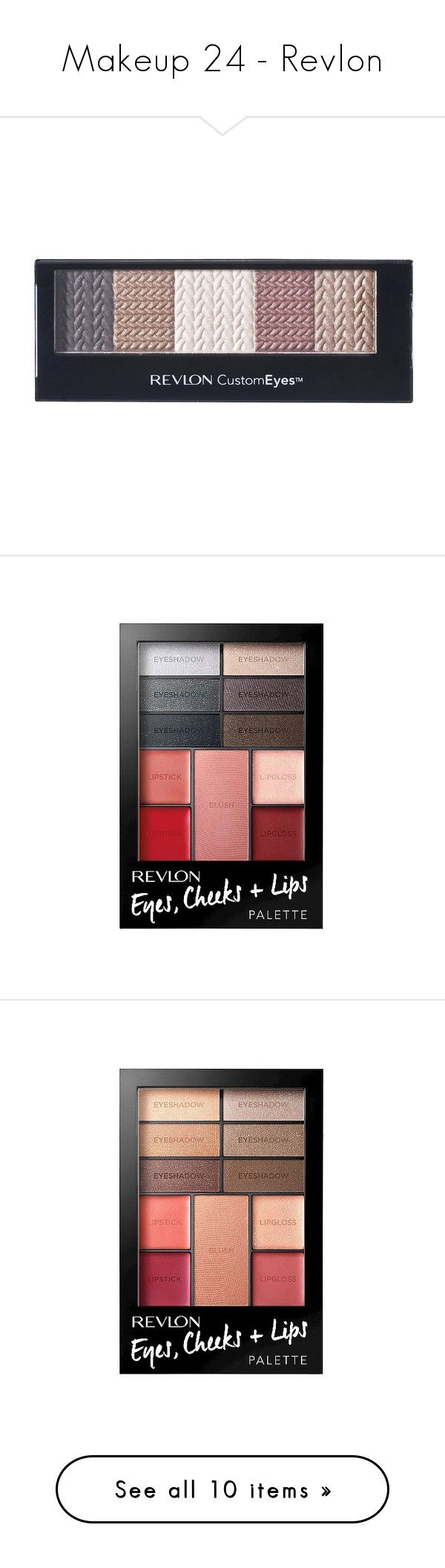 """""""Makeup 24 - Revlon"""" by middletondonna ❤ liked on Polyvore featuring beauty products, makeup, eye makeup, eyeshadow, revlon eye makeup, palette eyeshadow, revlon, revlon eye shadow, revlon eyeshadow and palette makeup"""
