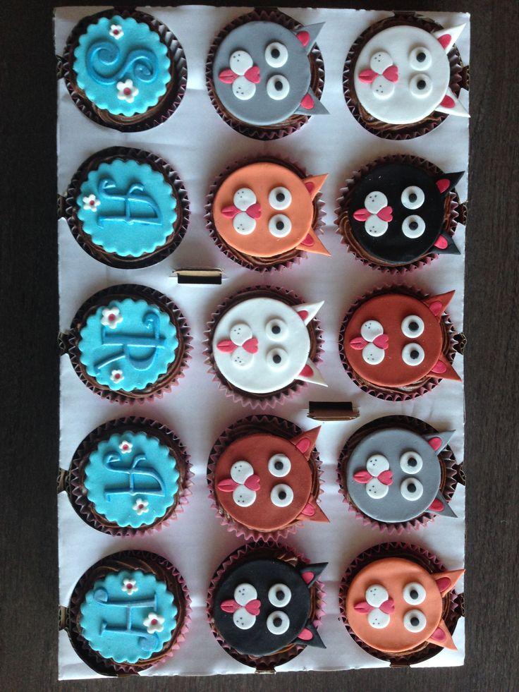 Cupcakes chats