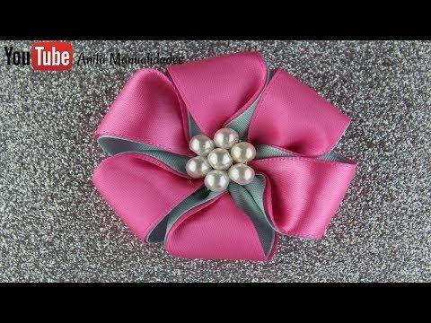 Flor Sencillo Paso a Paso | Anita Manualidades - YouTube