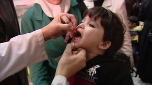 Europe at 'polio risk' from Syria Europe could be at risk from polio following a recent outbreak in Syria, infectious disease experts say. polio vaccine