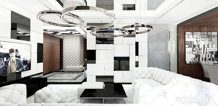 DREAMS COME TRUE | Wnętrza apartamentu | Salon