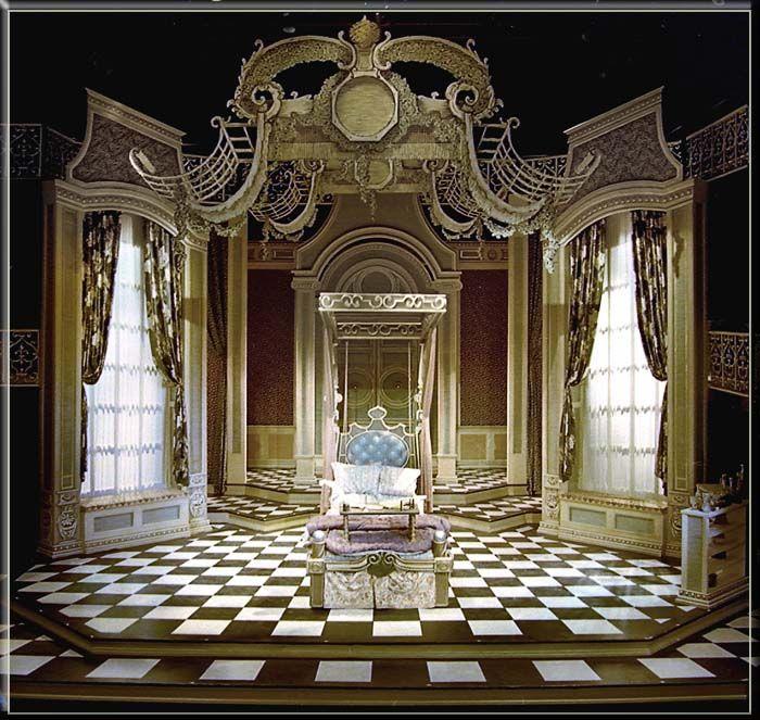 Imaginary Invalid by Moliere - Set Design by Richard Finkelstein, Stage Designer