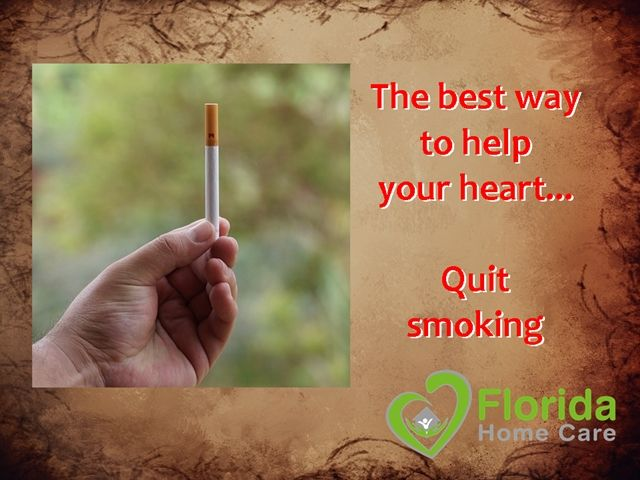 It's not easy, but the very best protection for your heart health is to quit smoking. It is one of the top causes of heart and arterial disease, as well as cancer. Get #HeartHealthy, talk to your doctor about quitting. Don't be a part of the statistic. Call #FloridaHomeCare today for a free consultation. #HeartMonth #AbuDhabiDoctor #EmiratesGroupEmployees #AbuDhabiHealthCare #UAEHealthCare #GetHeartHealty #HeartAttackPrevention #StopSmoking