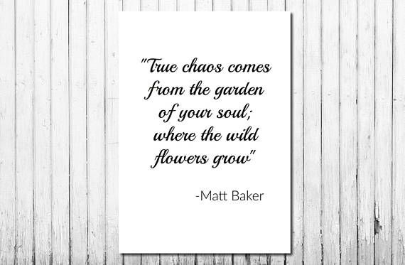 Digital Downloadable Quote, Poem, Beautiful, by Matt Baker. Minimalist, Monochrome, Black and white, Poetry, Wall Art