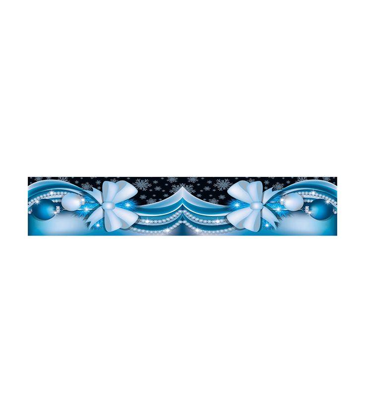 FashionSupreme - Traversă în nuanțe albastre cu imprimeu de Crăciun - Pentru casă - Accesorii - Sofi - în întâmpinarea Crăciunului. Haine şi accesorii de marcă. Haine de designer.