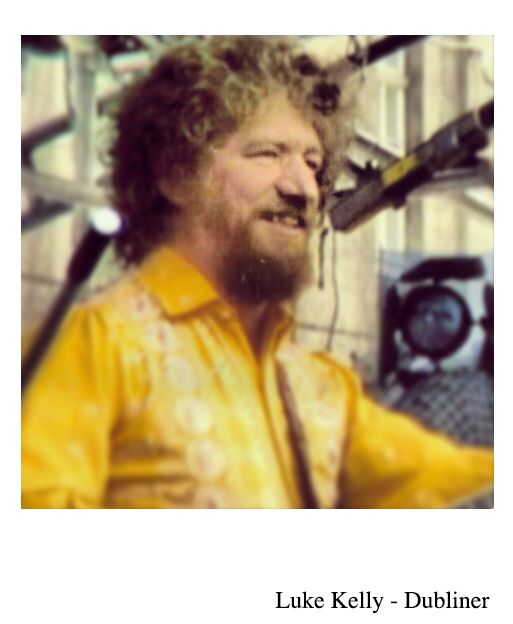Luke Kelly - Dubliner.   We mark the anniversary of Luke Kelly, who died 30 year's ago today. Legendary Singer, Musician & founder member of The Dubliners.