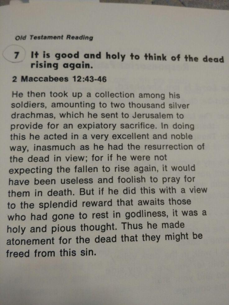 2 Maccabees 12:43:46