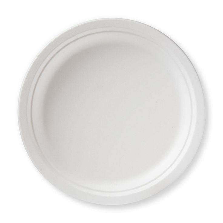 "10"" Bagasse Dinner Plate by MikaPak 