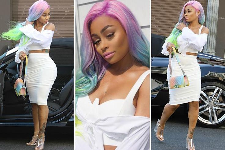 BLAC Chyna has debuted new rainbow hair as she was spotted in public for the first time since ex Rob Kardashian's revenge porn rampage. The 29-year-old didn't seem to have a care in the…