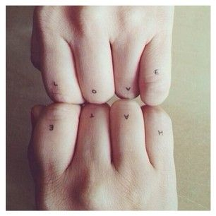 Tiny letters | 99 Impossibly Small And Cute Tattoos Every Girl Would Want