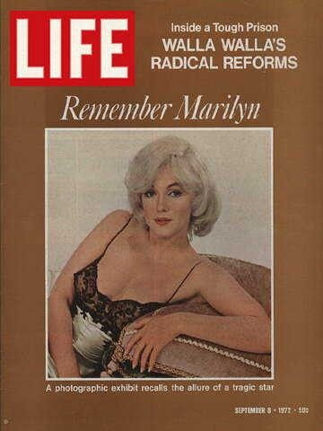 "Marilyn Monroe - Life Magazine, September 8, 1972 issue - Visit http://oldlifemagazines.com/the-1970s/1972/september-08-1972-life-magazine.html to purchase this issue of Life Magazine. Enter ""pinterest"" for a 12% discount at checkout. - Marilyn Monroe"