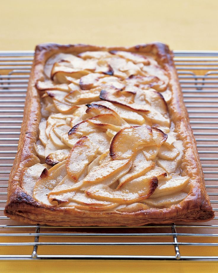 The store-bought puff pastry crust makes prep time shorter and still produces a quality tart.