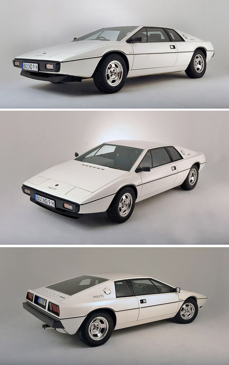Silly, impractical, unreliable... still want one.  Lotus Esprit S1 (1976 - 1979)