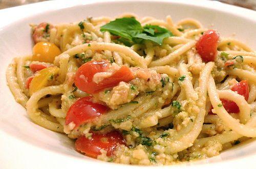 pasta mindal pomidor
