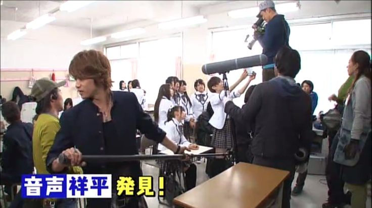 Takaki is working as staff