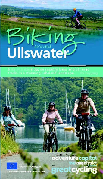 This leaflet 'Biking around Ullswater' contains 5 do-in-a-day cycle routes and start from Ullswater. Many regard Ullswater as the most beautiful of the English lakes. The surrounding mountains give Ullswater the shape of an elongated 'Z' giving it three separate segments, or reaches that wind their way through the surrounding hills. The cycle routes can also be downloaded from the cycling section of our website.