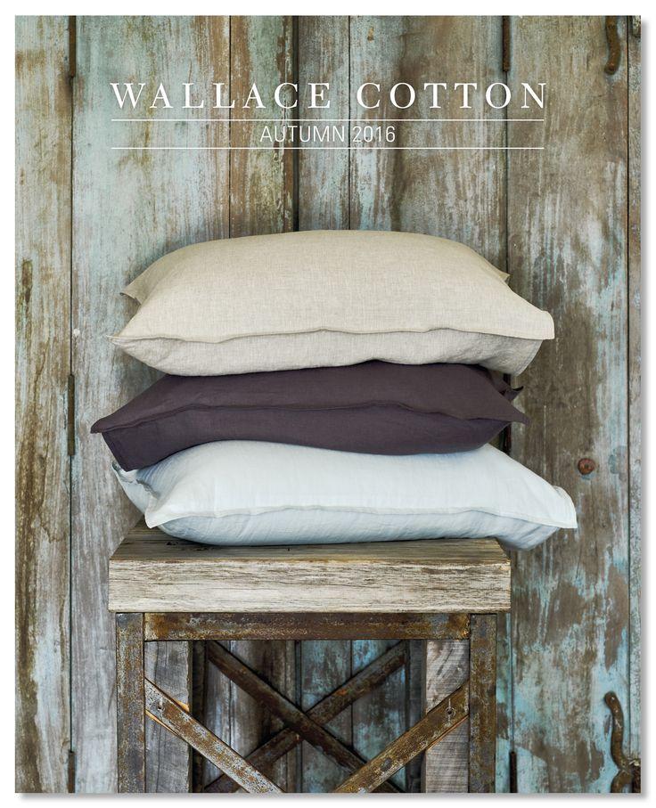 Wallace Cotton Autumn 2016 Catalogue Cover www.wallacecotton.com