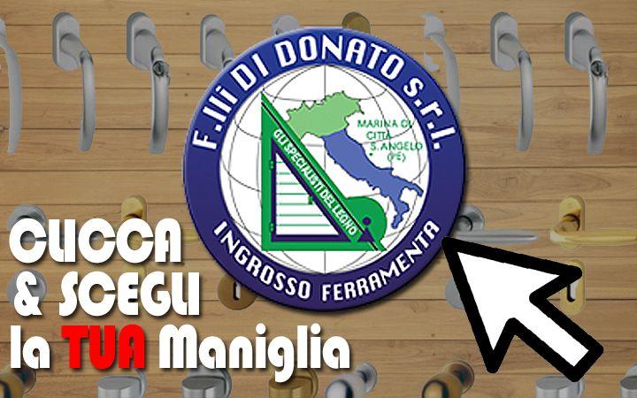 F.lli Di Donato | Scopri le Nostre Maniglie: Vetrina n.01