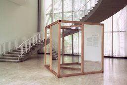 Dan Graham American, born 1942, Model for Pavilion/Sculpture for Argonne