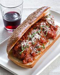 Slow Cooker Meatballs in Tomato Sauce Recipe on Food & Wine