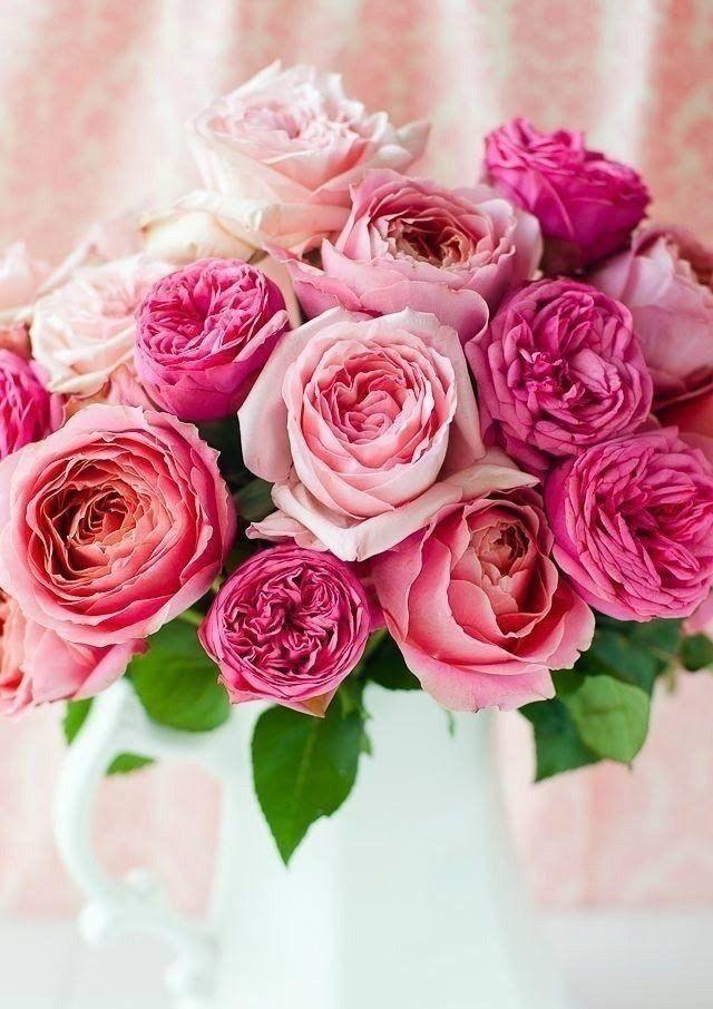 Открытки девушке с цветами