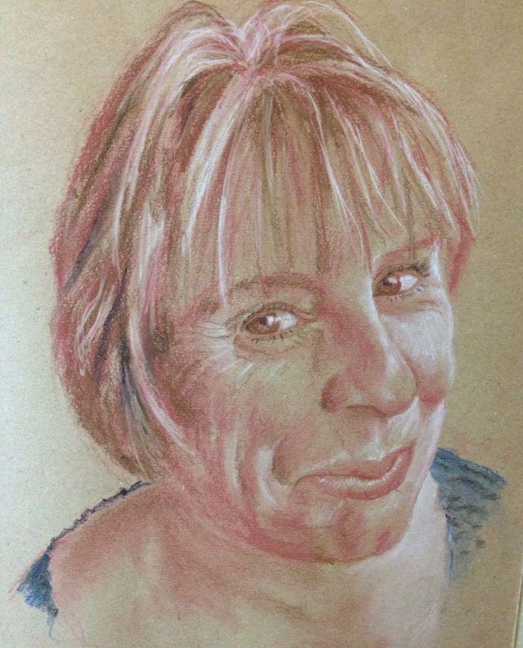 Chris - pastel pencil - Jan 2015.