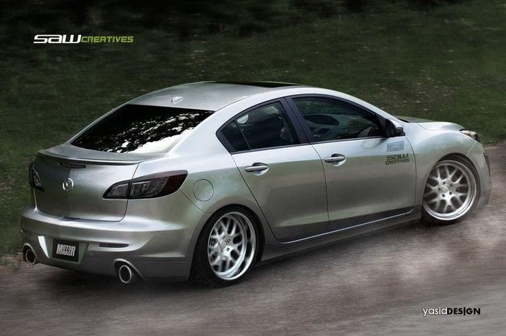 Mazda 3 2010_kit prop. Rear by yasiddesign