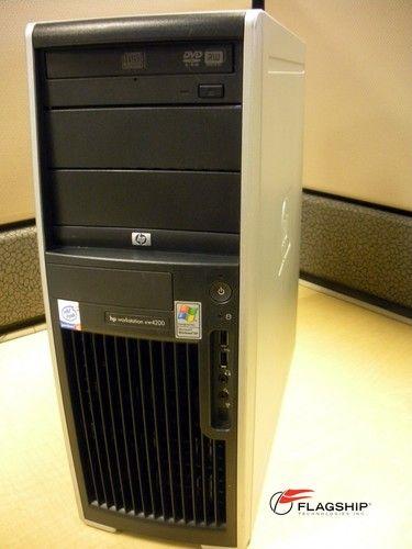 HP xw4200 DU936AV Intel Pentium 4 Processor 2.80GHz, 2GB, 160GB, DVD-RW, XP Pro