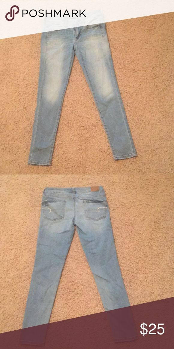 American eagle super stretch jeans size 4 excellent condition American Eagle Outfitters Jeans Skinny