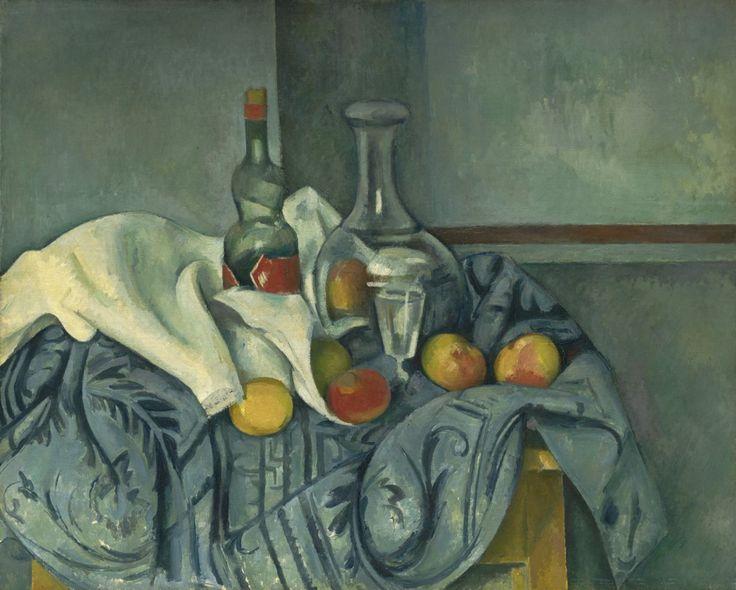 Paul Cezanne - The Peppermint Bottle
