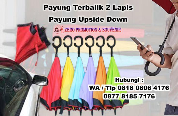Jual Payung Terbalik 2 Lapis - Payung Upside Down