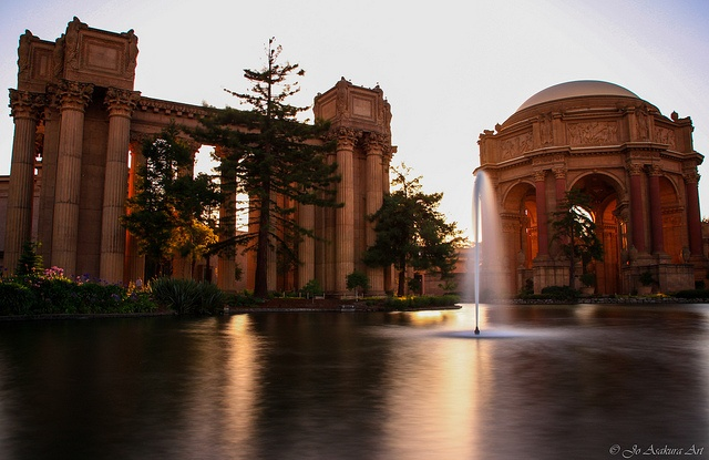 Palace of Fine Arts in San Francisco, by Jo Asakura via Flickr.